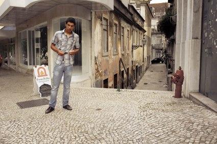 Street seller.