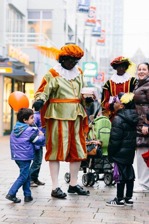 Zwarte Piet in Almere