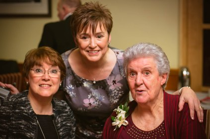 Granny and two of her lovely daughters.
