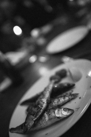 Mmm. Grilled sardines.