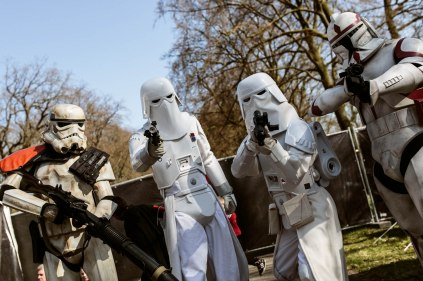 And it's never a party without the 501st!